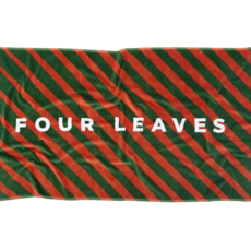 Four Leaves Four Leaves sustainable multicolour beach towel