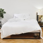 Four Leaves Four Leaves Nayakakanda sateen white with white duvet cover