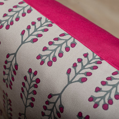 Tallentire House Tallentire House Fuchsia red sustainable cushion
