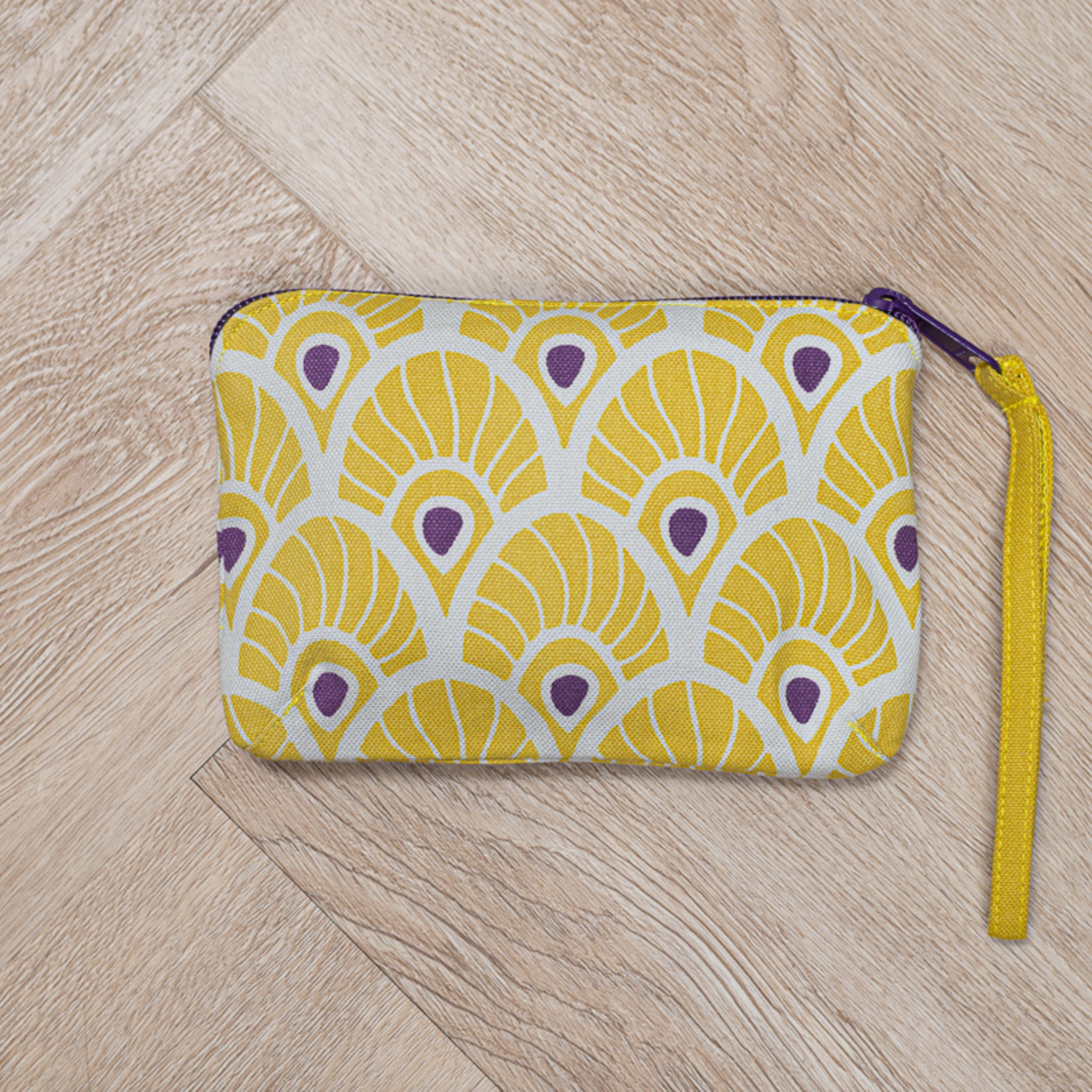 Tallentire House Tallentire House Feather Oil Yellow sustainable bag