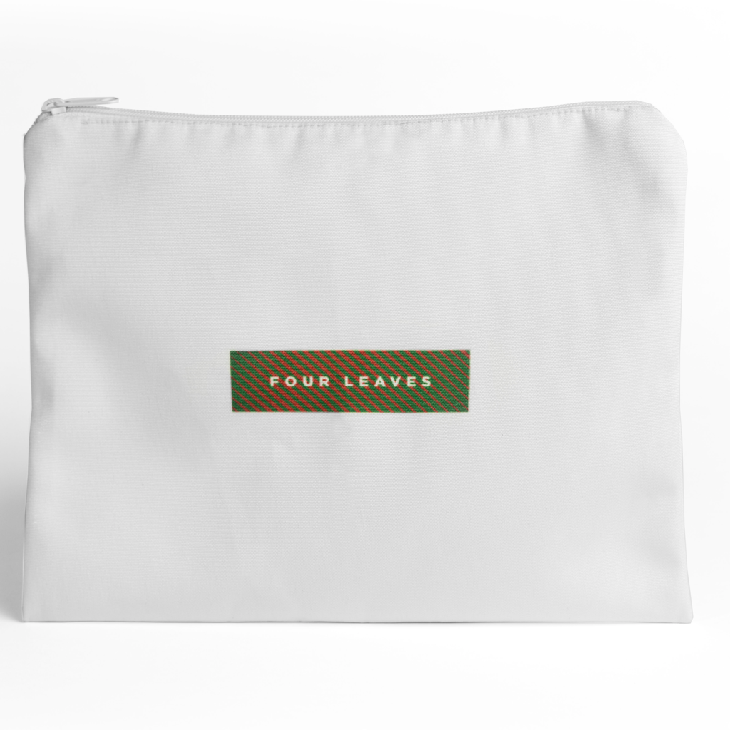 Four Leaves Four Leaves Kandalama percale dark green sustainable sheet