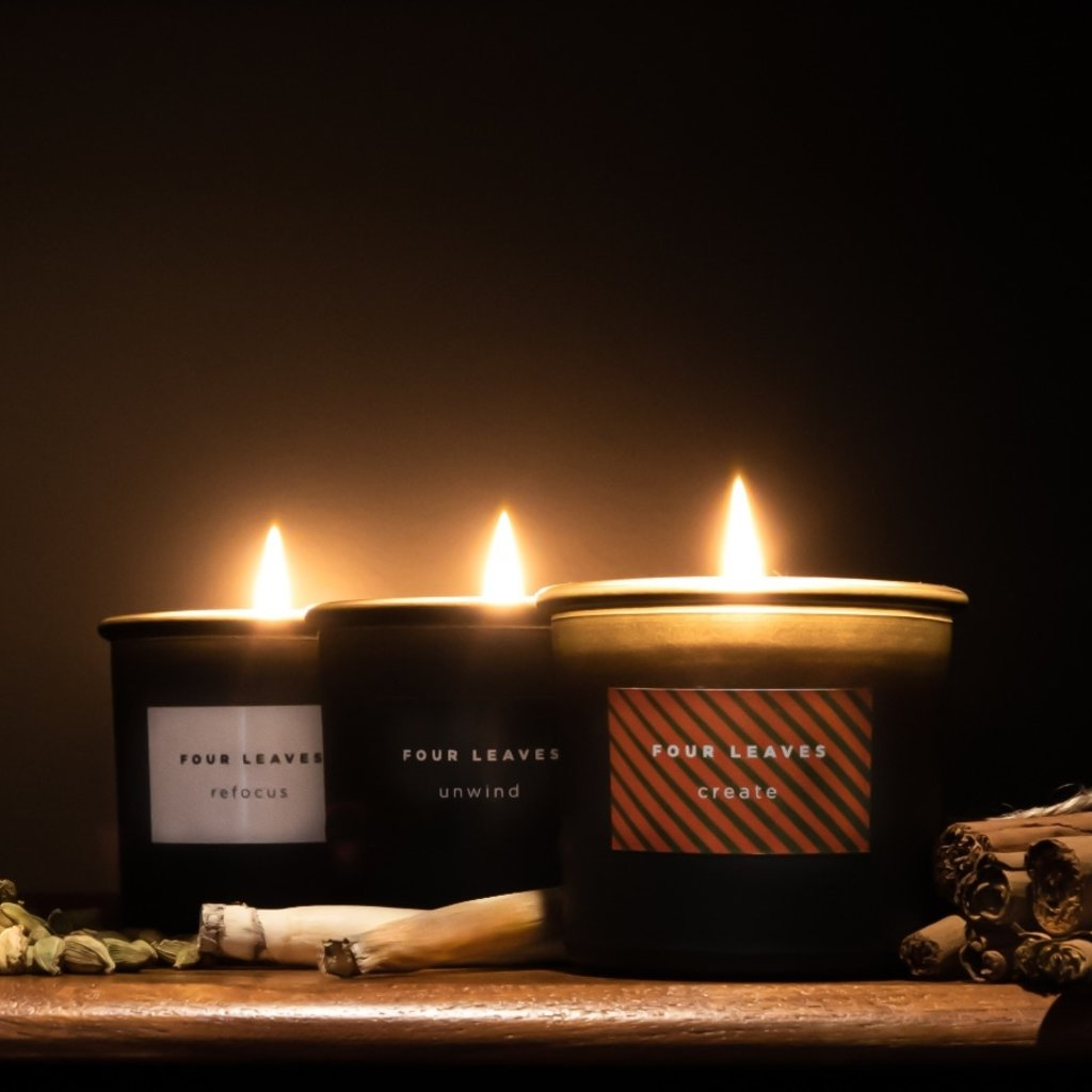 Four Leaves Four Leaves three sustainable scented candles