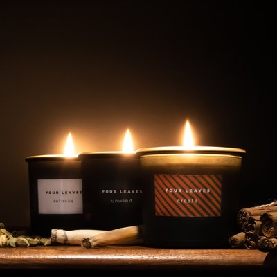 Four Leaves Four Leaves three scented candles