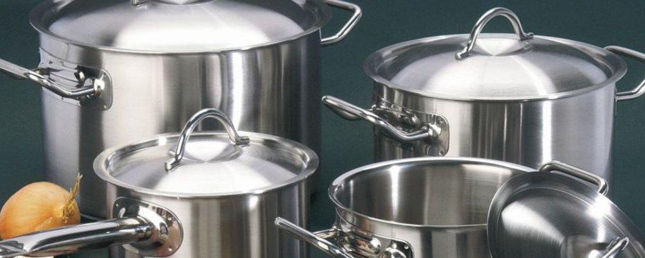 Die preiswerte Kochgeschirr-Serie für die Profiküche!