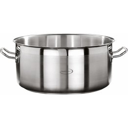 "Bratentopf flach ""Cookmax Professional"" Ø 24 cm, H: 10,5 cm. Inhalt 4,7L"