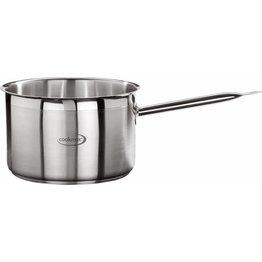 """Stielkasserolle hoch """"Cookmax Professional"""" Ø 24 cm, H: 15 cm. Inhalt 6,8L"""