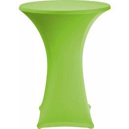 Stehtischbezug Ø 70 cm grün