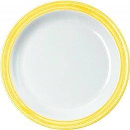 """Teller flach """"Colour"""" Ø19,5cm Melamin  gelb"""