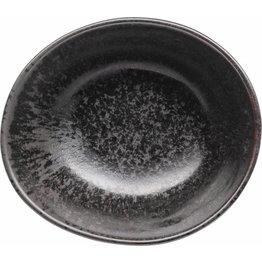 """Porzellanserie """"Ebony"""" Schale 12,5x10,5cm - NEU"""