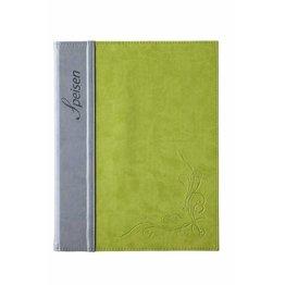 """Speisenkarte """"Flora"""" A4 limone"""