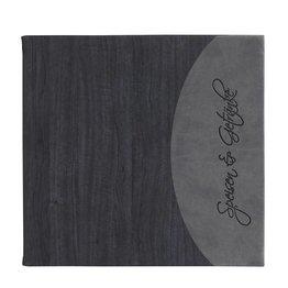 """Speisenkarte """"Felia"""" quadratisch schwarz"""