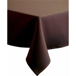 """Tischdecke """"Excaliber"""" 140x140cm braun"""
