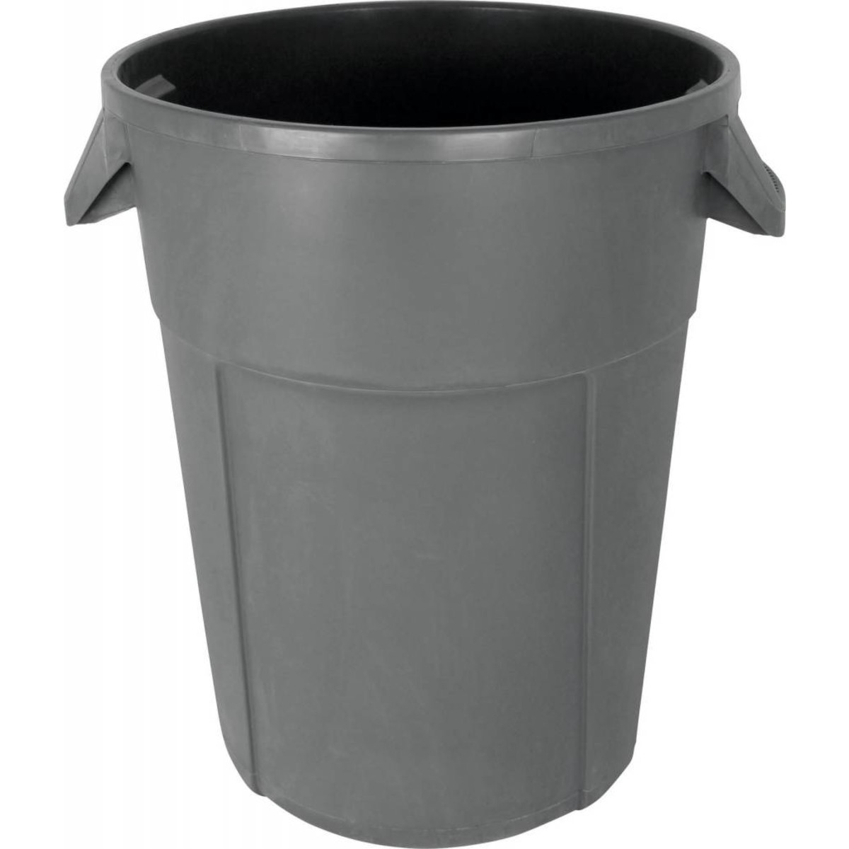 Abfalleimer rund grau 85 L ohne Deckel