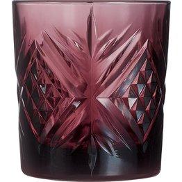 "Whiskeyglas ""Broadway Colors"" 300 ml Aubergine - NEU"