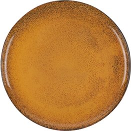 "Porzellanserie ""Spices"" Curry Teller flach Ø27cm - NEU"