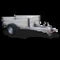 AGADOS Remorque bagagère VZ 26 B, 1300 kg,  aluminium freinée