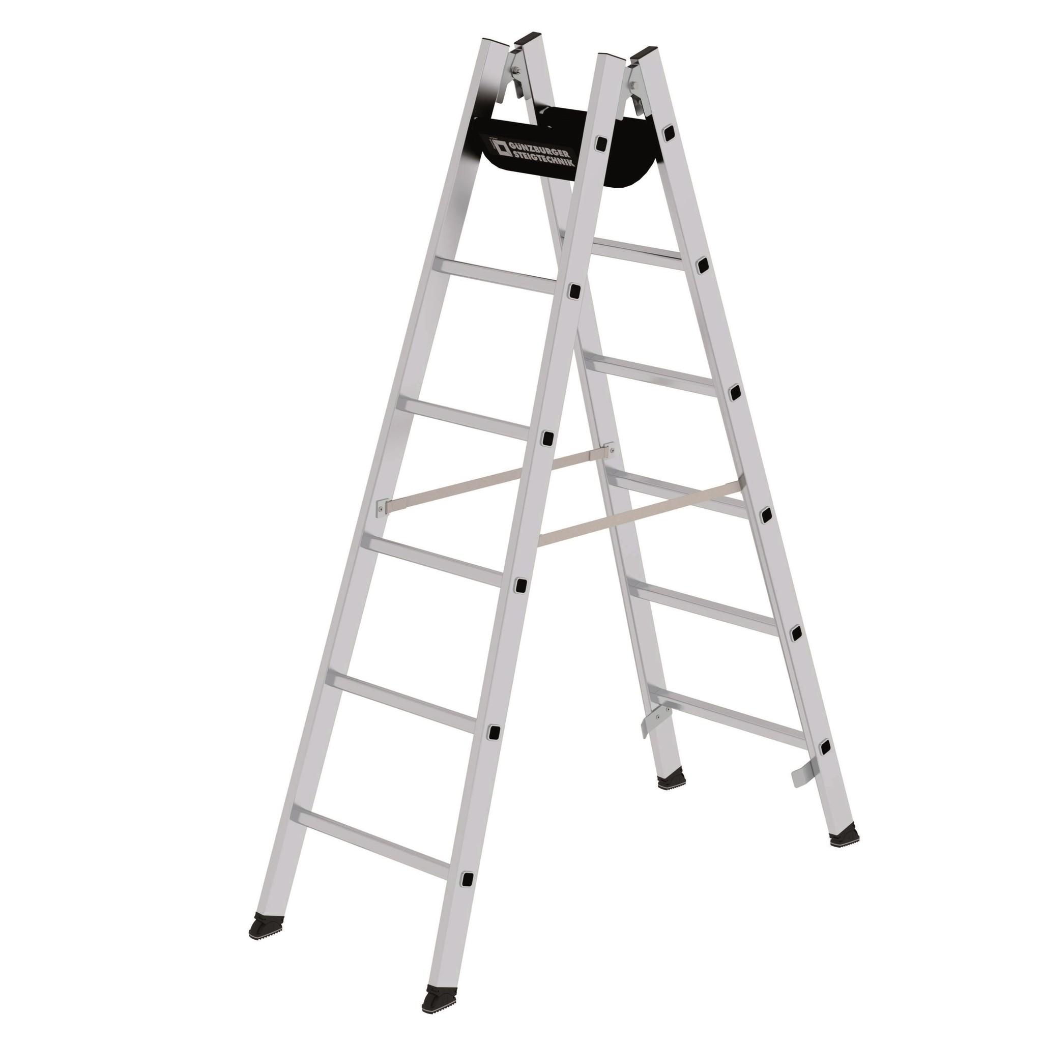 Aluminium dubbele ladders
