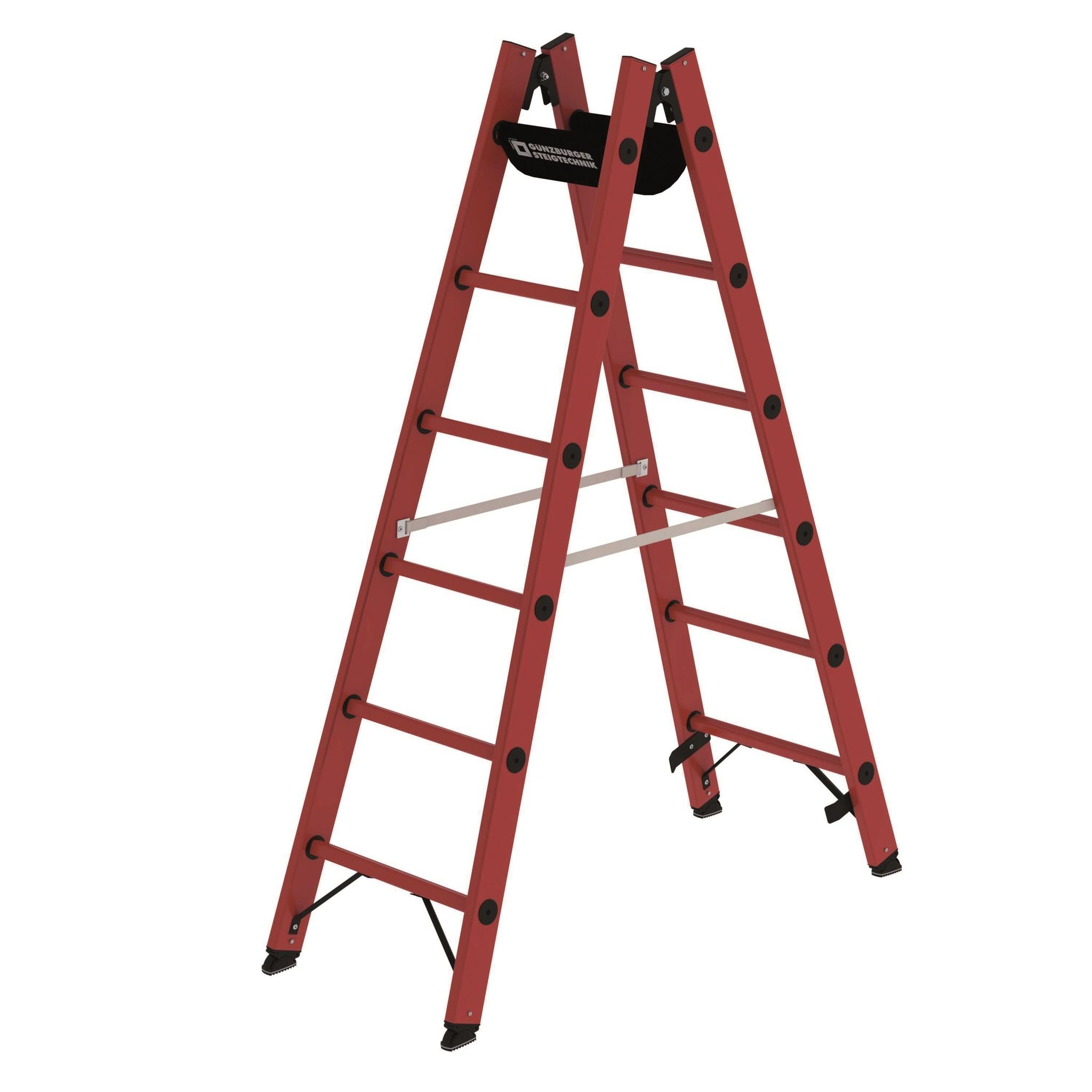 Kunststof dubbele ladders