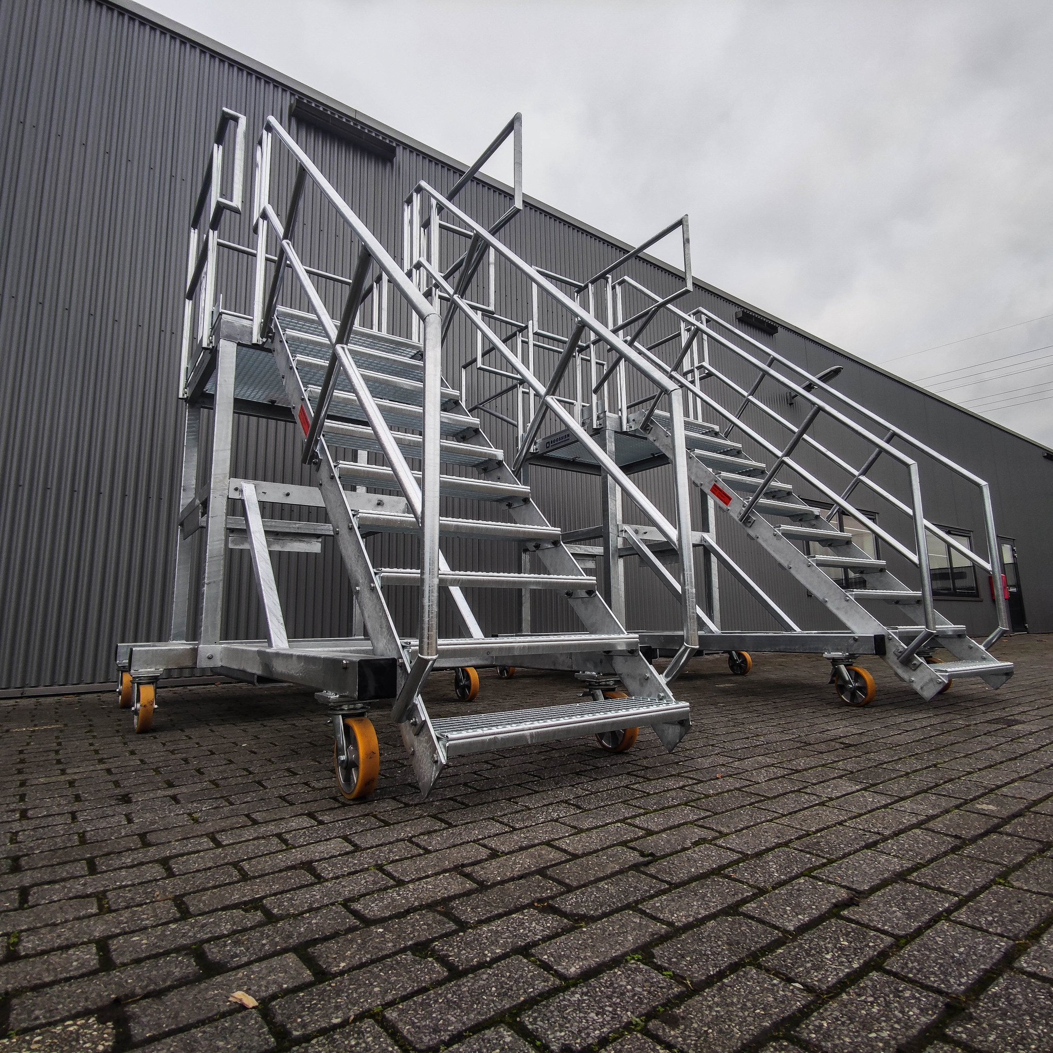 Platformtrappen staal