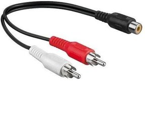 Tulp (RCA) splitter kabels