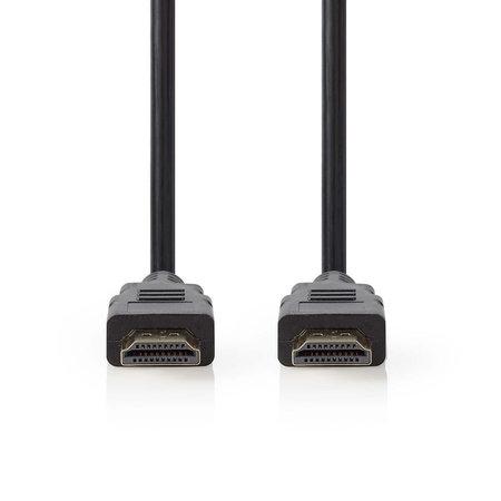 Nedis 1.5 meter   High Speed HDMI kabel met Ethernet   HDMI connector - HDMI connector   Zwart