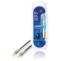 Jack AUX Kabel 3.5 mm - 3.5 mm Hoge Kwaliteit Zwart 5 meter