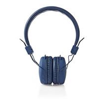 Draadloze hoofdtelefoon | Bluetooth® | On-ear | Opvouwbaar | Blauw