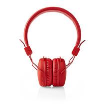 Draadloze hoofdtelefoon | Bluetooth® | On-ear | Opvouwbaar | Rood