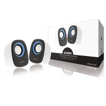 Speaker 2.0 Bedraad 4 W Wit/Blauw