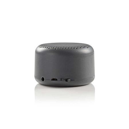 Nedis Dr. Luidspreker met Bluetooth 9 W Grijs
