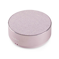 Luidspreker met Bluetooth 9 W Metal design Roze-goud