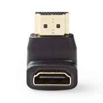 Compacte HDMI adapter - 90° haaks naar beneden - versie 1.4 (4K 30Hz)