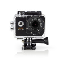 Action Camera Full-HD 1080p Wi-Fi + Accessoires