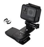 Puluz 360 Graden rotatie klem voor GoPro en overige action camera's