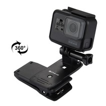 GoPro 360 graden klem - rugzak back pack clip action camera
