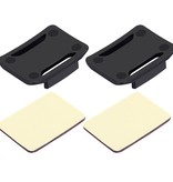 3M Stickers + Mount voor GoPro - Action Camera's - 2x Curved