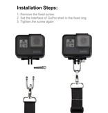 Draagriem geschikt voor GoPro - Action Camera's