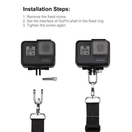 Puluz Draagriem geschikt voor GoPro - Action Camera's
