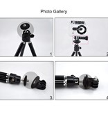 Puluz GoPro tripod mount adapter voor GoPro en Action camera