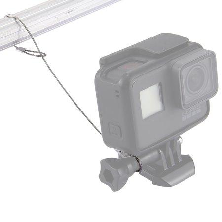 Schroef met veiligheidskoord voor GoPro - Action Camera's Zilver