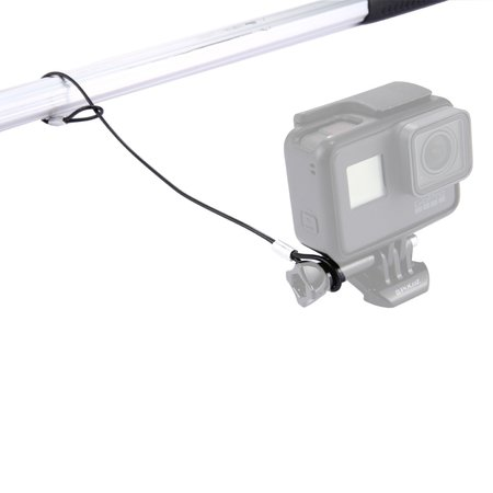 Schroef met veiligheidskoord voor GoPro - Action Camera's Zwart