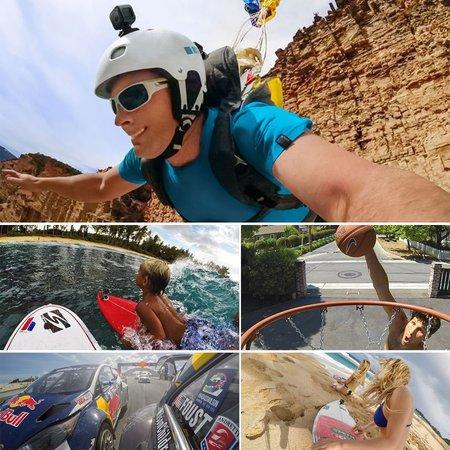 GoPro Mount bevestiging + 3M stickers