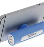 SWEEX Powerbank Lader Blauw 2500 mAh inclusief Kabel