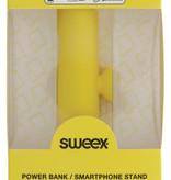 SWEEX Powerbank Lader Geel 2500 mAh inclusief Kabel