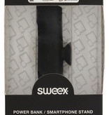 SWEEX Powerbank Lader Zwart 2500 mAh inclusief Kabel