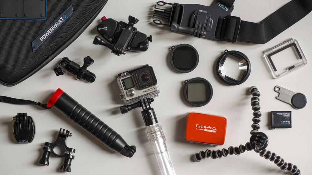 GoPro accessoires en de Action camera, het hoef niet duur te zijn
