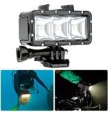 Puluz GoPro Video Duik Lamp 30 meter waterproof