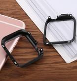 HAWEEL Apple Watch bescherm Bumper - Case voor serie 4 (40mm) Zwart