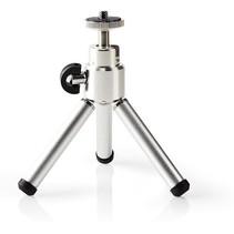 Ministatief - Driepoot statief Max. 0,8 kg 13,4 cm Zwart / zilver voor GoPro / Action camera / camera