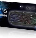 Nedis Dr. Scandinavisch - Nordic indeling PC toetsenbord - met LED verlichting